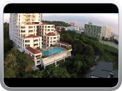 DJI Phantom 2 Vision In Thailand to do 200 meter high sky fly.