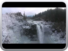 DJI phantom 2 vision over Snoqualmie Falls