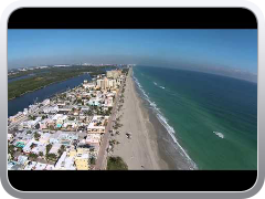 Dji Phantom Vision 300 feet no wind g steet Hollywood beach fl  highest yet