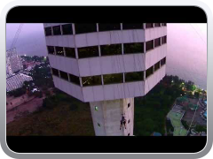 Dji Phantom 2 Vision fly over Pattaya Park Sky Tower