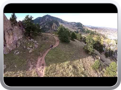 Dji phantom vision flight over Red Rocks in Boulder Colorado
