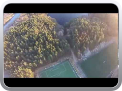 Dji Phantom Vision 2 third flight. Kristiansand, Norge, Norway