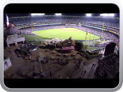 DJI Phantom at Angel Stadium of Anaheim