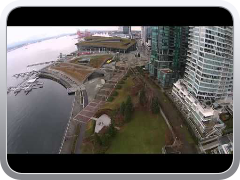 DJI Phantom 2 Vision over Coal Harbour