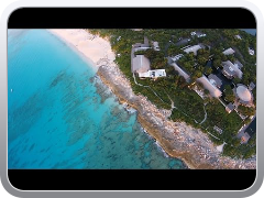 DJI Phantom 2 Vision at Turks and Caicos Islands