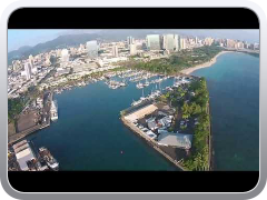 DJI Phantom Vision 2 over Kewalo Basin and Fisherman's Wharf